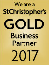 We are a St Christopher's Gold Business Partner 2017