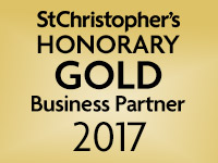 We are a St Christopher's Honorary Gold Business Partner 2017