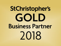 We are a St Christopher's Gold Business Partner 2018