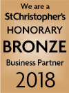 We are a St Christopher's Honorary bronze Business Partner 2018