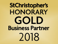We are a St Christopher's Honorary Gold Business Partner 2018