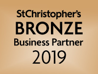 We are a St Christopher's bronze Business Partner 2019