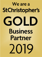 We are a St Christopher's Gold Business Partner 2019