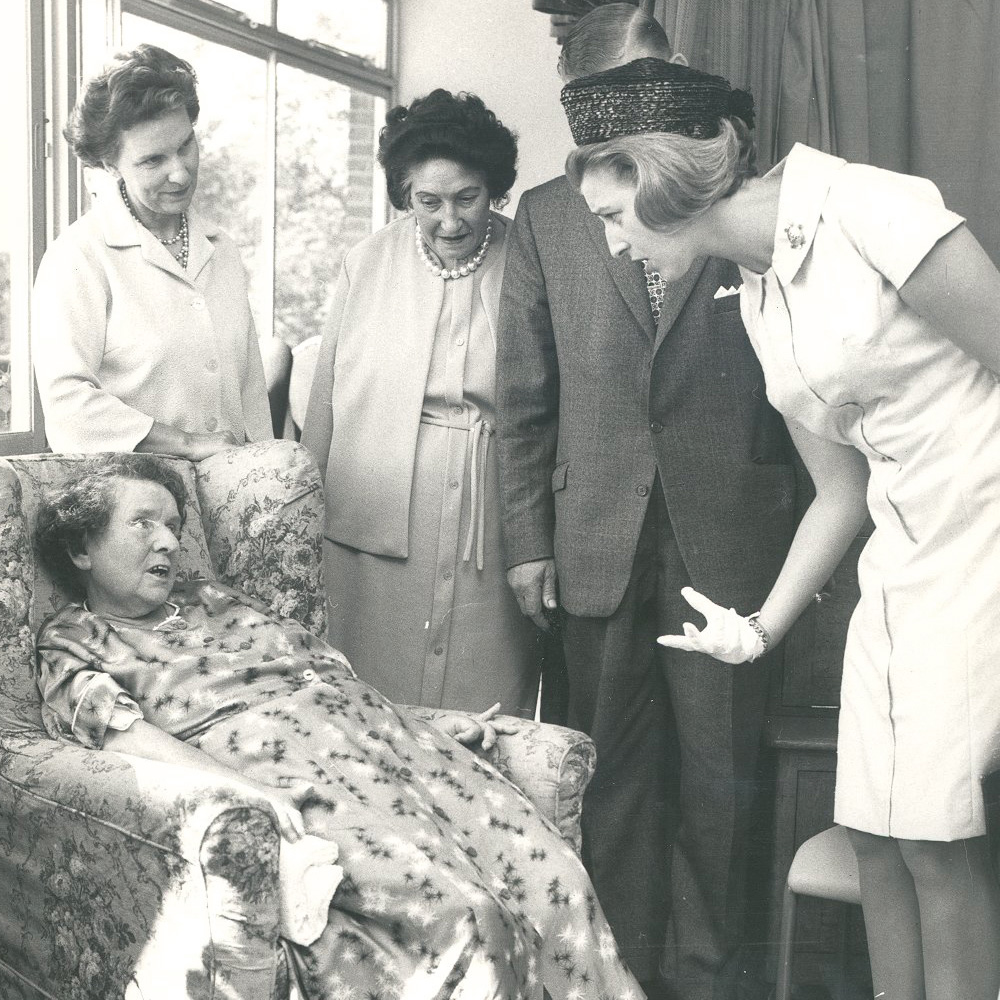 We welcomed our first patient on 13 July 1967