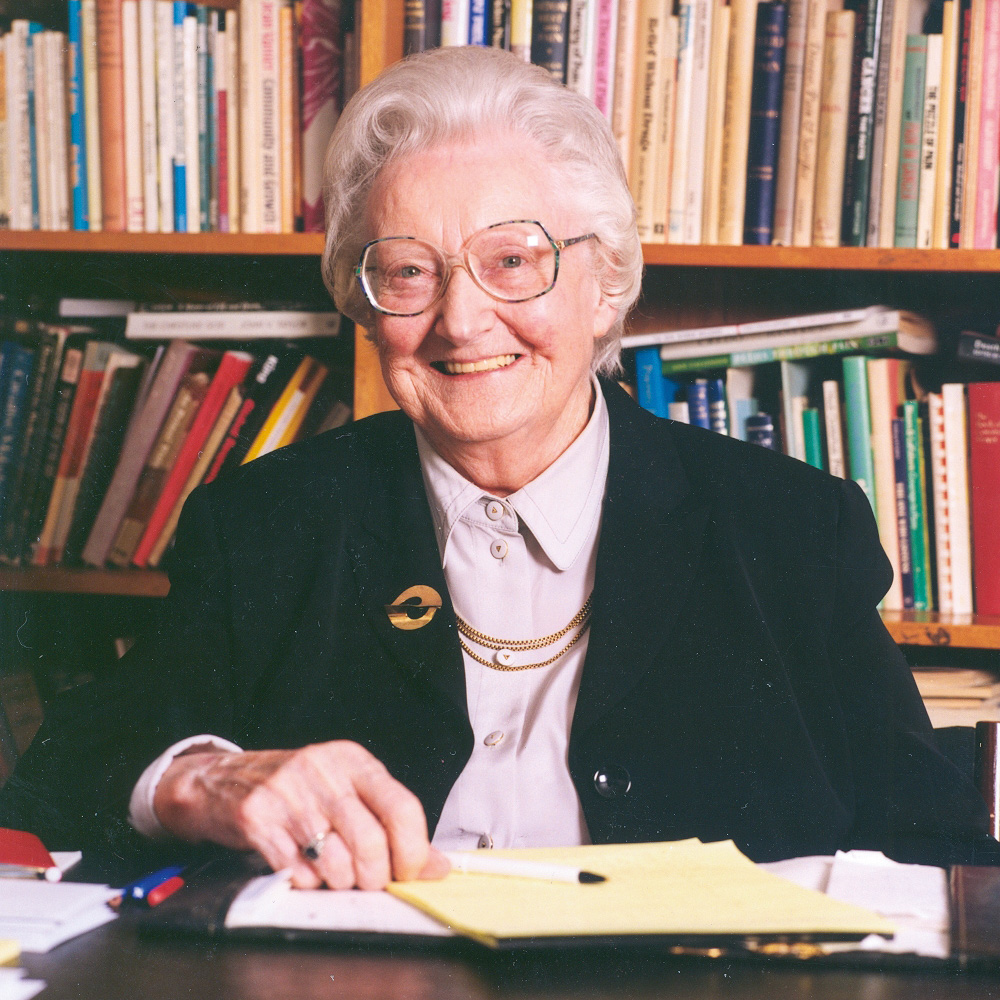 Dame Cicely Saunders died peacefully at St Christopher's on Thursday 14 July 2005.