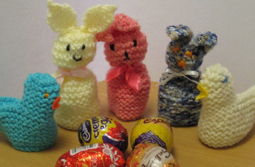 Easter Chicks and Bunnies