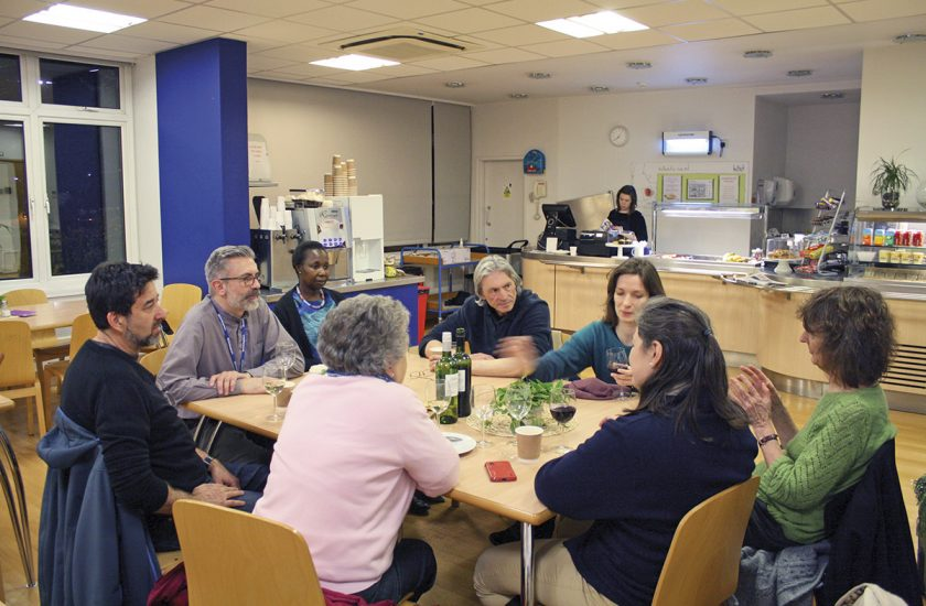 Death Chat at St Christopher's