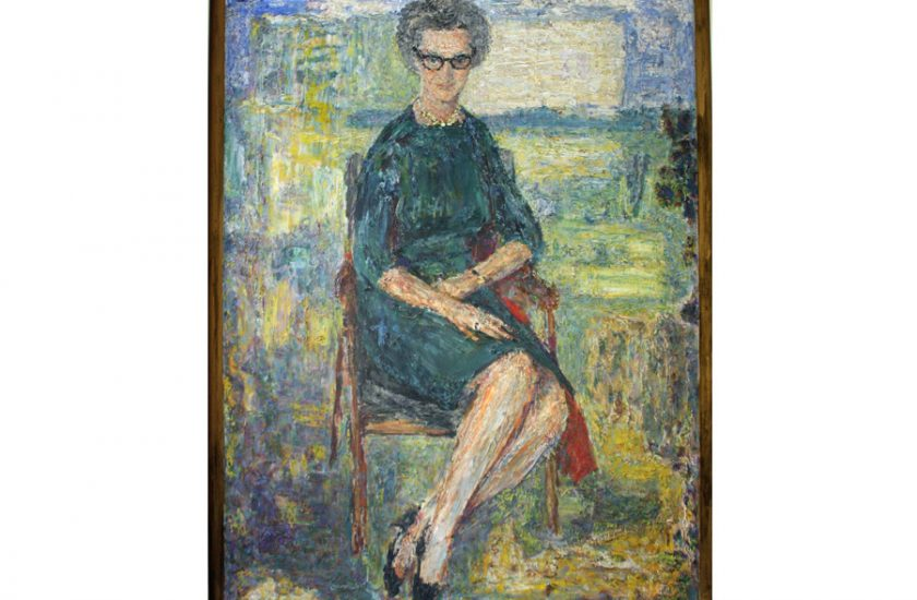 Dr Cicely Saunders – unknown date, oil on canvas