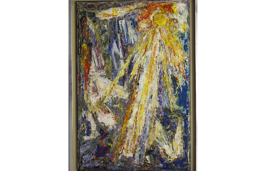 Fiat Lux – 1970, oil on canvas