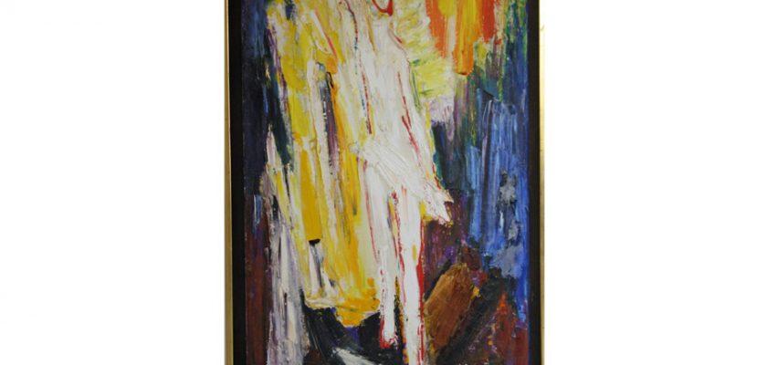 Resurrection 1 – 1969, oil on canvas
