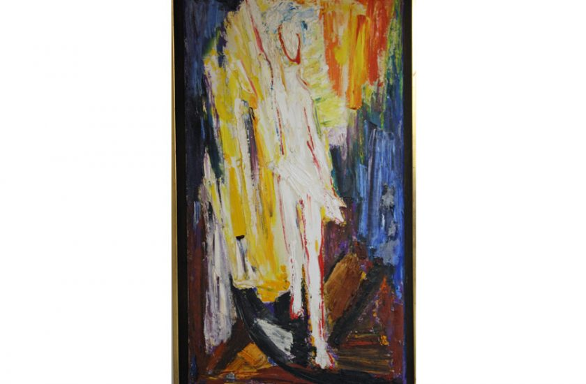 Resurrection 1 – 1969, oil on canvas