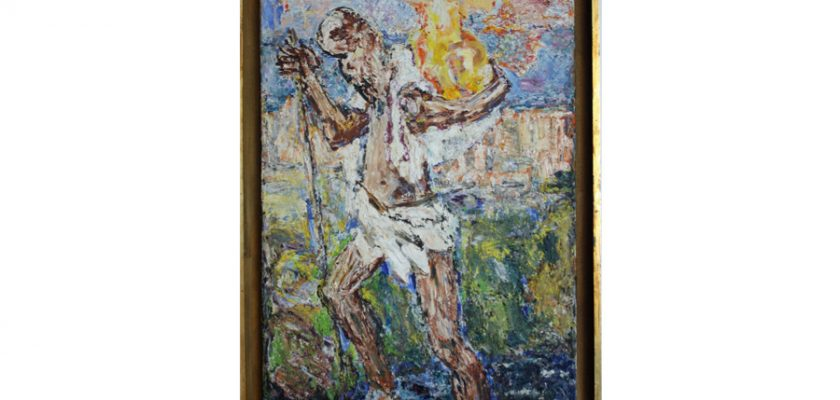 St Christopher – 1970, oil on canvas