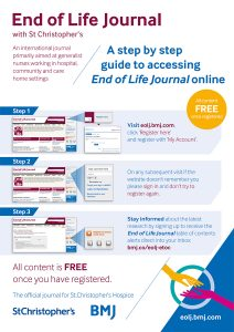 End of Life Journal User Guide