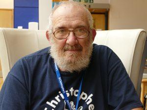 Volunteer Dave Perry