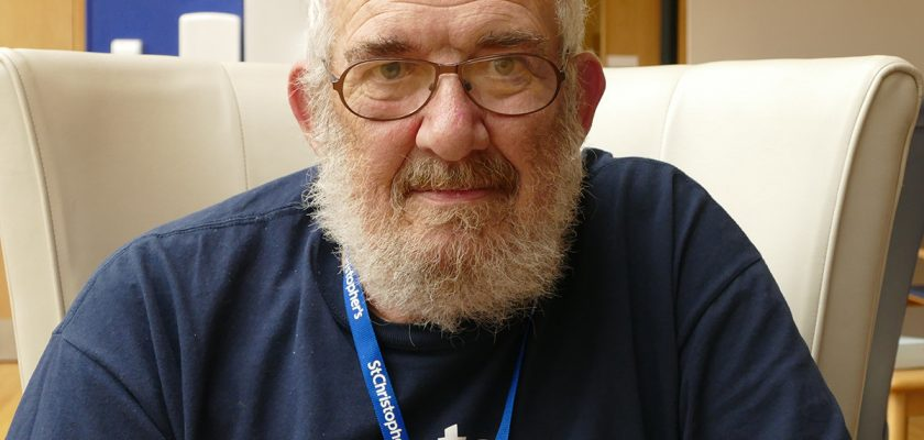 Volunteer Dave Perry