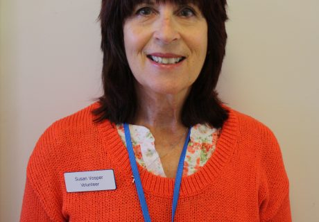 Volunteer Susan Vosper