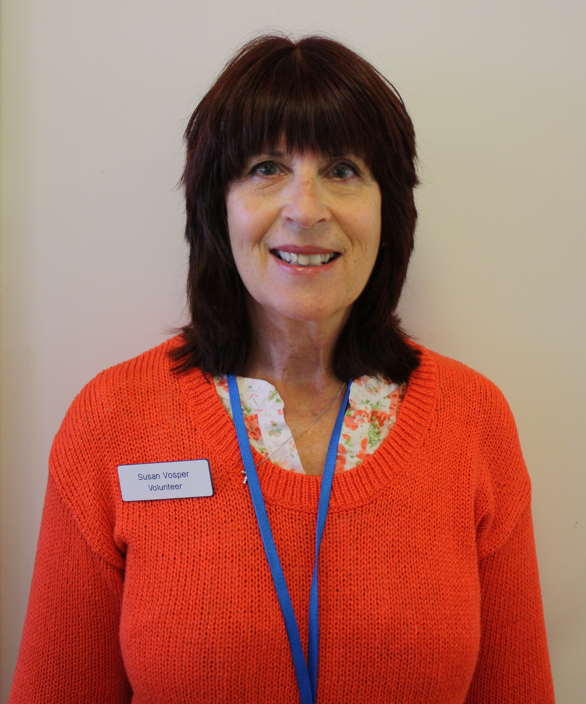 Volunteer Susan Vosper