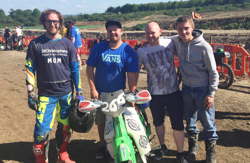 Off Road Moped Race for Mum