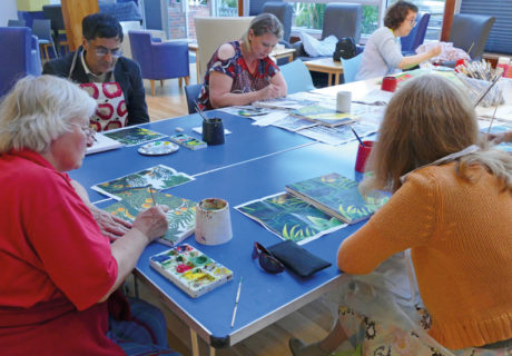 Art social group