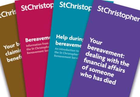 Bereavement leaflets