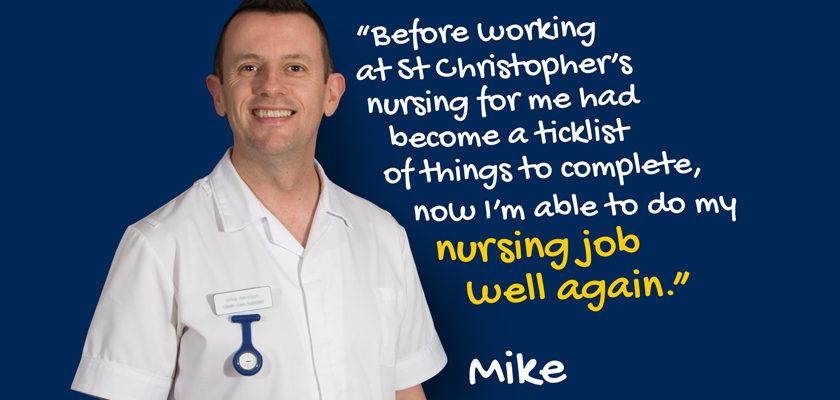 Mike, nurse