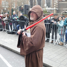 New Year's Day Parade Shaun the Jedi