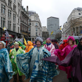 New Year's Day Parade - St Christopher's volunteers patients and staff
