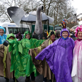 New Year's Day Parade lambeth float