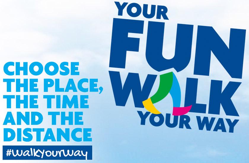 Your fun walk, your way