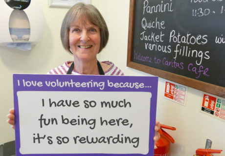 Volunteer Ann Butler