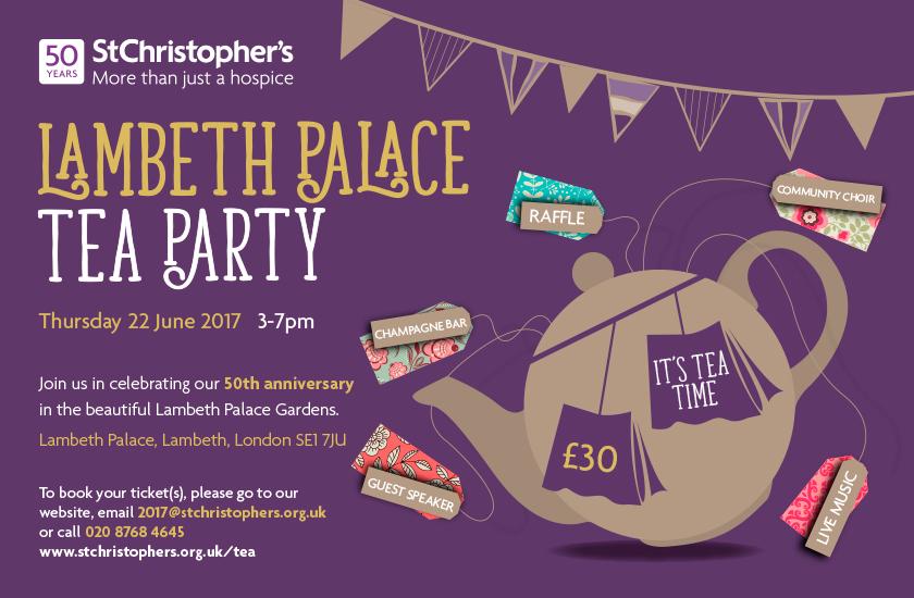 Lambeth Palace Tea Party