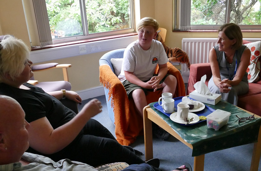 Young people facing bereavement