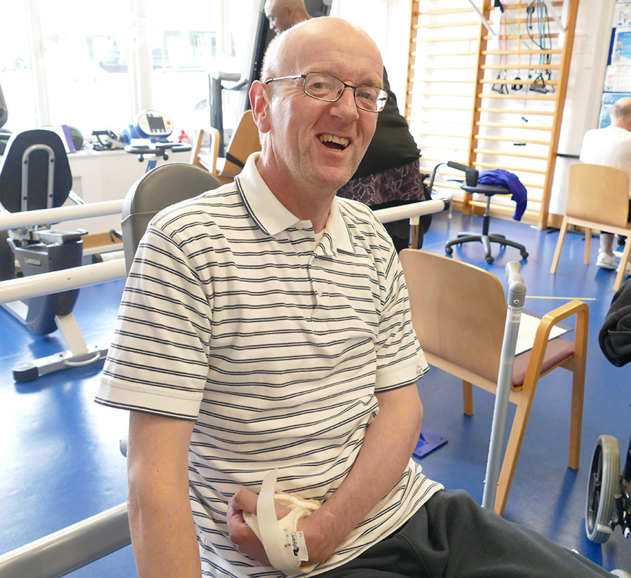 Richard enjoys using the gym at St Christopher's in Sydenham