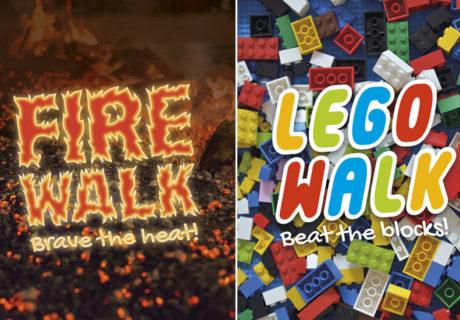 Firewalk and Lego Walk