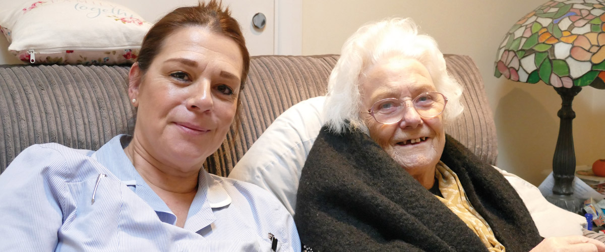 Carers change lives: Jenny and Marjorie