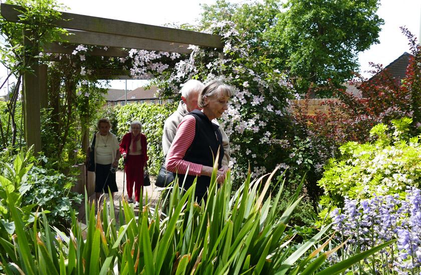 Open Gardens at Caritas House
