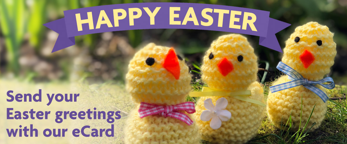 Happy Easter - send your Easter greetings with our eCard