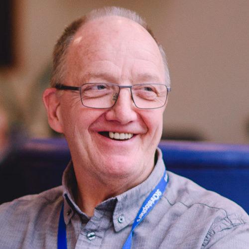 Volunteer Stephen Rea