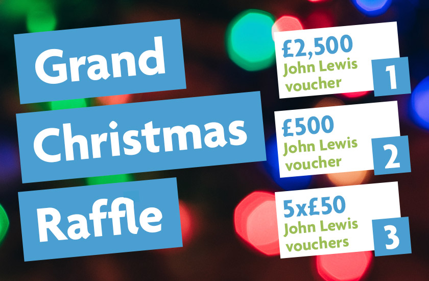 St Christopher's | Grand Christmas Raffle 2019 - St