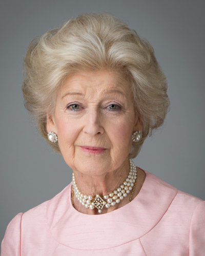 Her Royal Highness Princess Alexandra, Patron of St Christopher's Hospice since its opening over 50 years ago