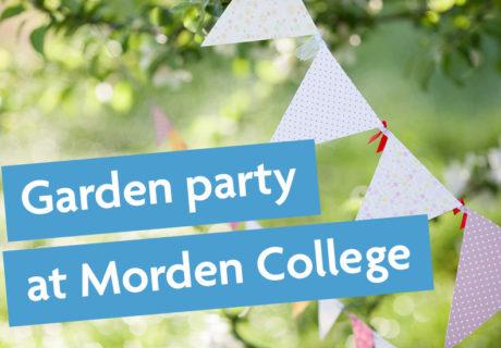 Garden party at Morden College