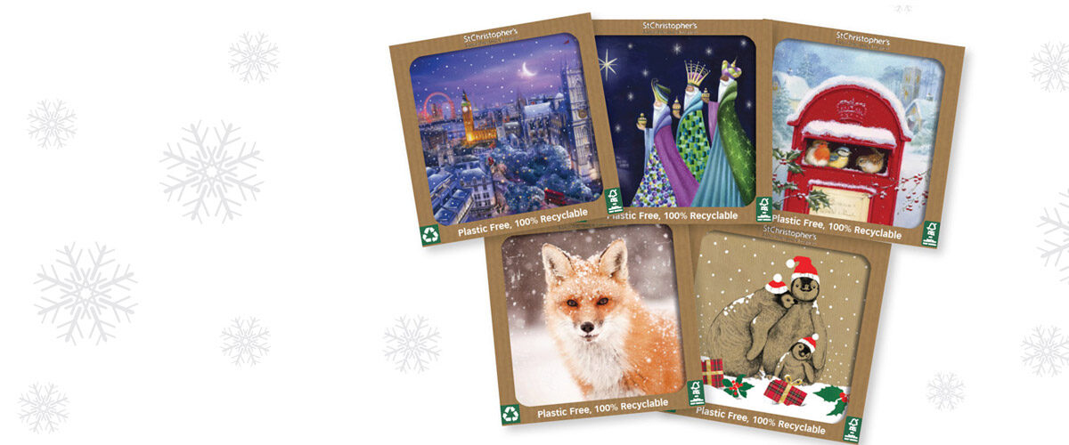Plastic Free Christmas Cards from St Christopher's