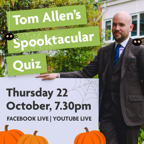 square product card tom allen spook