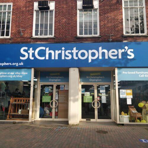Shops Orpington shop front