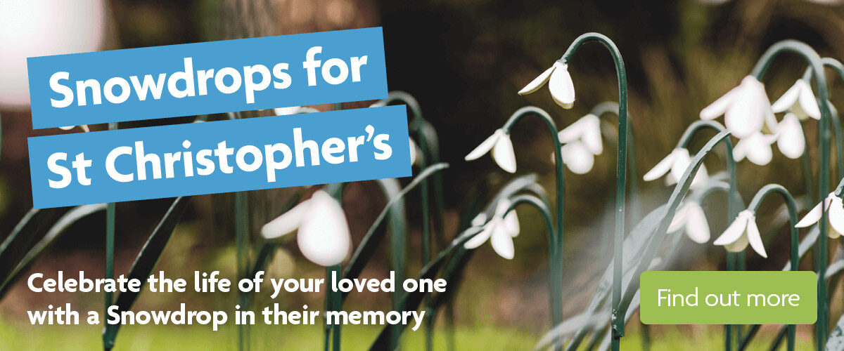 Snowdrops for St Christopher's