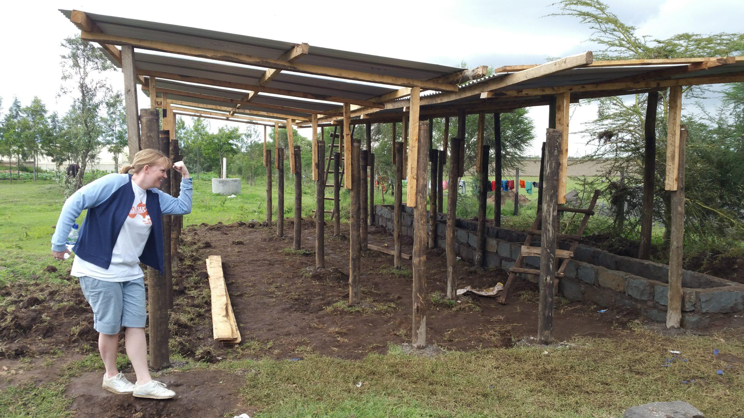 Sarah in Kenya