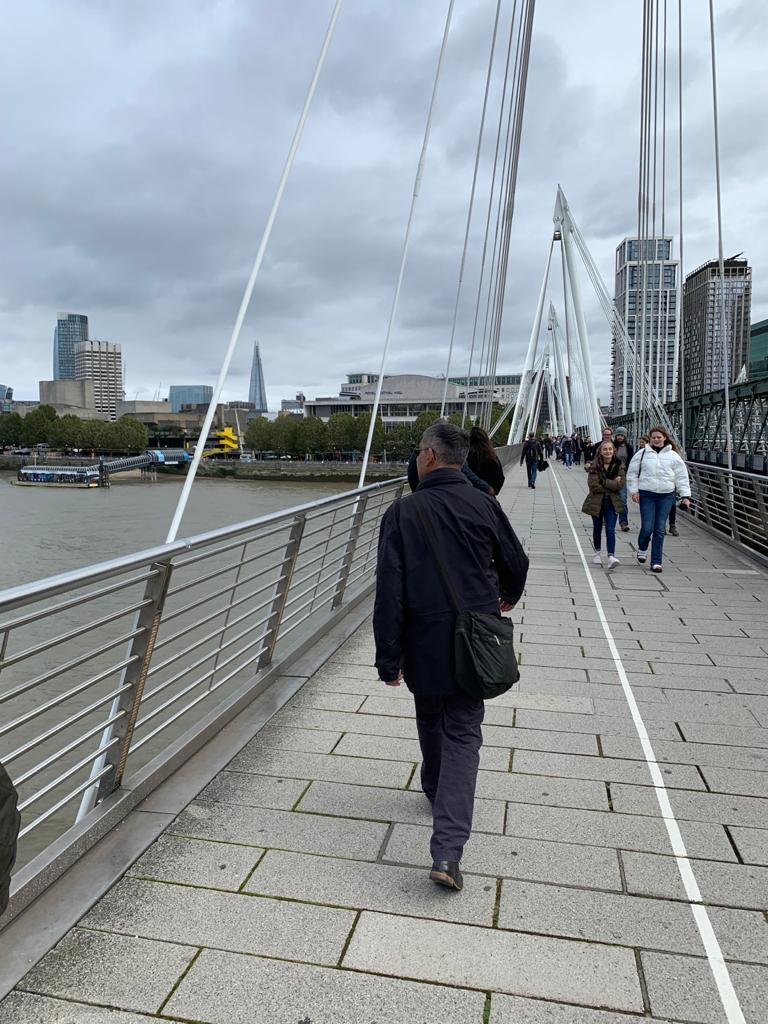 Shirley Addiscombe Rotary marathons in days Jim in London