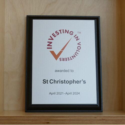 Award St Christophers