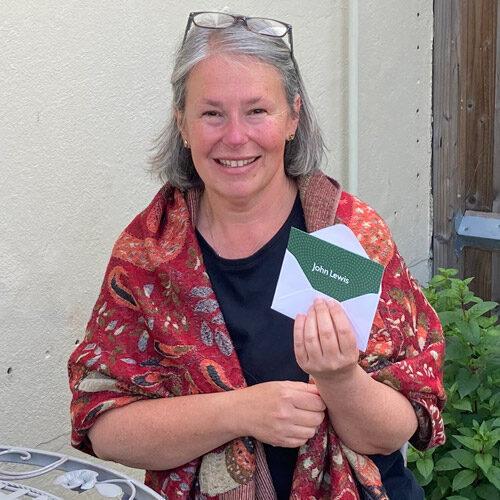 Summer Raffle winner Elke McDonald