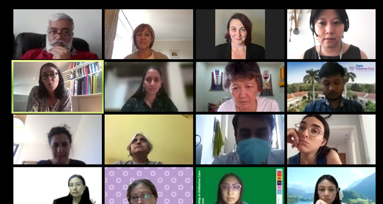 delegates from countries joined us on Zoom